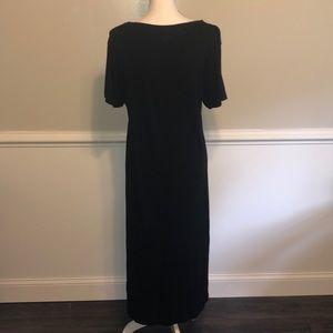 Desert Shores Black  Maxi Dress
